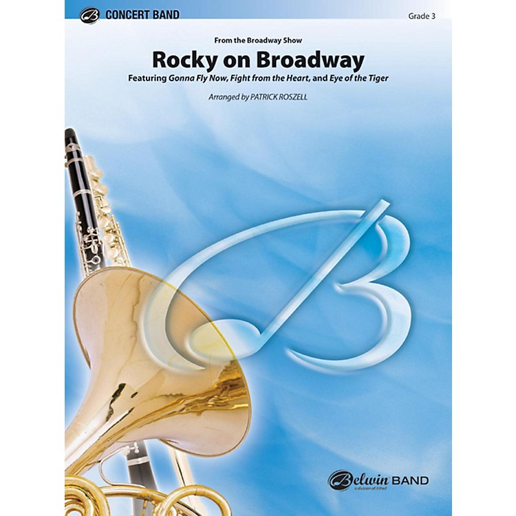 Alfred Rocky on Broadway Concert Band Grade 3