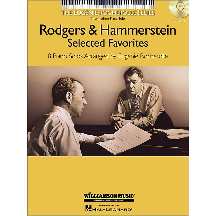 Hal LeonardRodgers & Hammerstein Selected Favorites - The Eugenie Rocherolle Series (Book/CD) arranged for piano solo