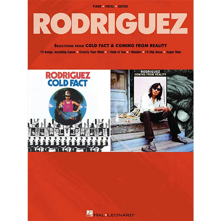 Hal LeonardRodriguez - Selections From Cold Fact & Coming From Reality for Piano/Vocal/Guitar