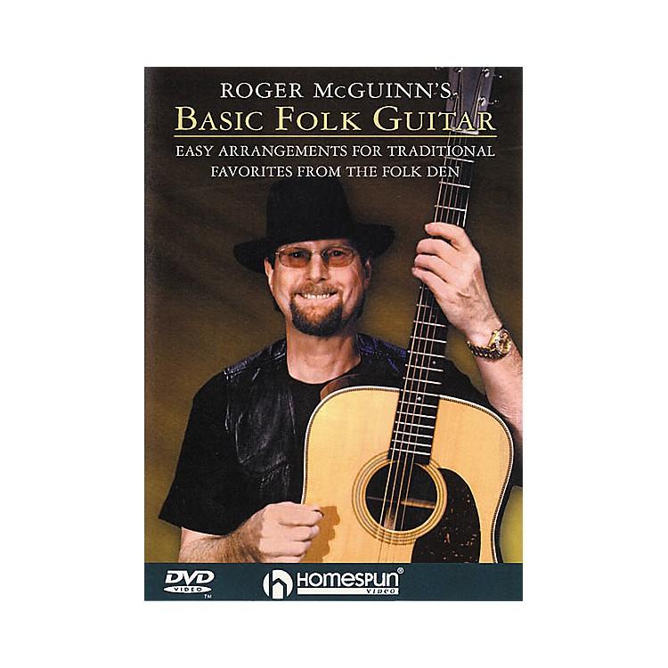 HomespunRoger McGuinn's Basic Folk Guitar (DVD)