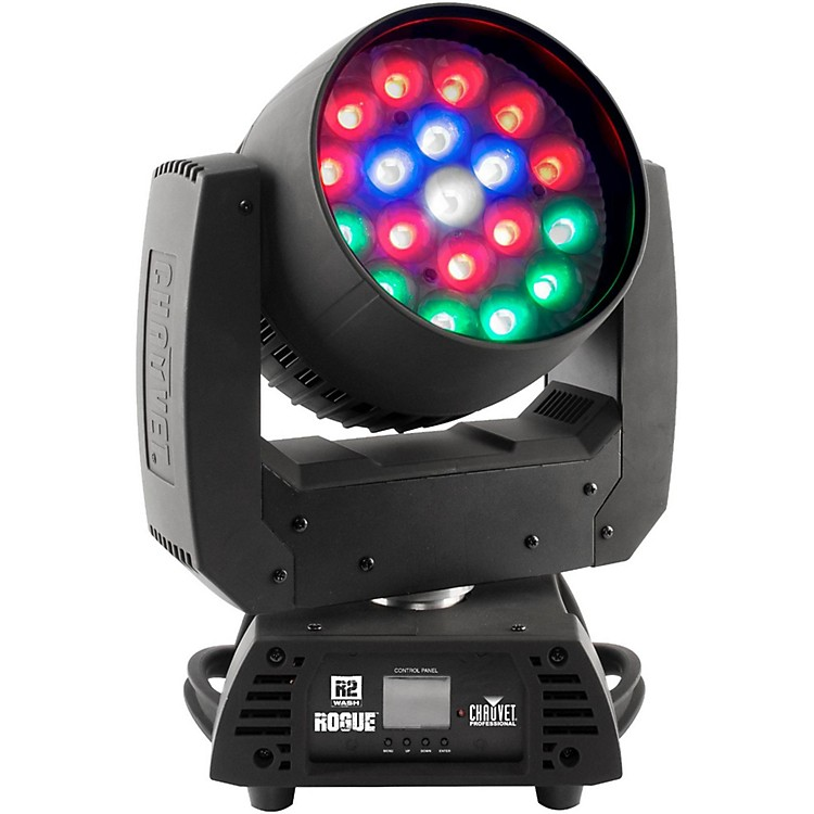 CHAUVET ProfessionalRogue R3 Wash RGBW LED Moving Head Light  with Zoom and Pixel Mapping