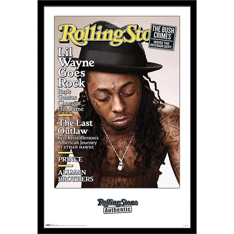 Trends InternationalRolling Stone - Lil Wayne PosterFramedBlack