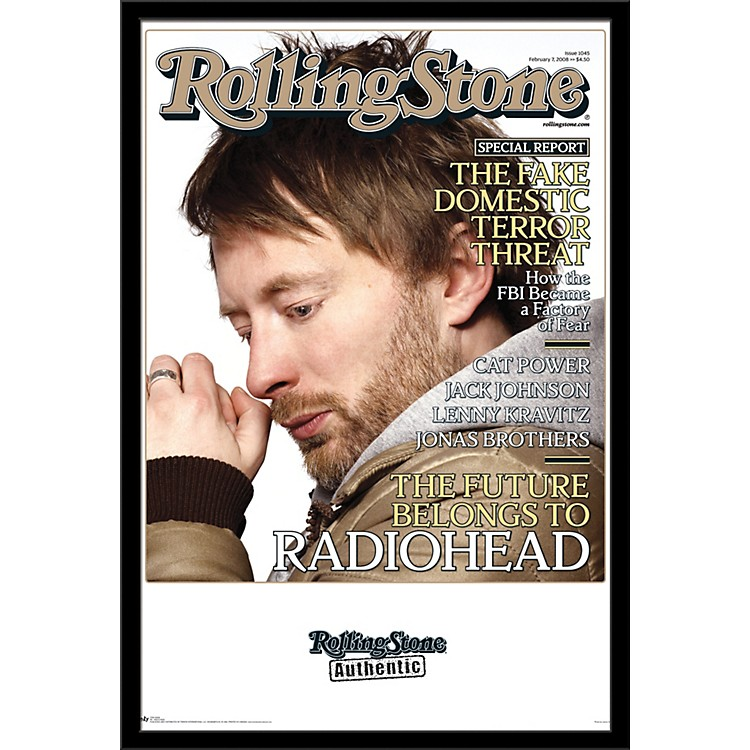 Trends InternationalRolling Stone - Radiohead PosterFramedBlack