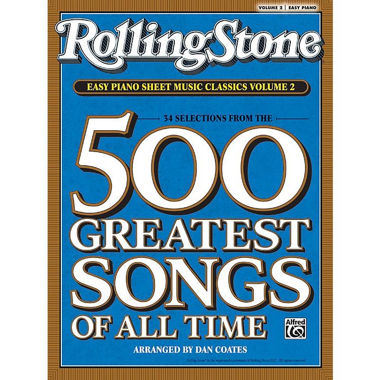 AlfredRolling Stone Easy Piano Sheet Music Classics Volume 2 (Book)