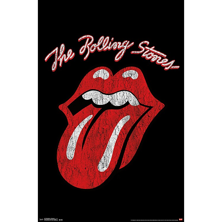 Trends International Rolling Stones - Classic Logo Poster Standard Roll