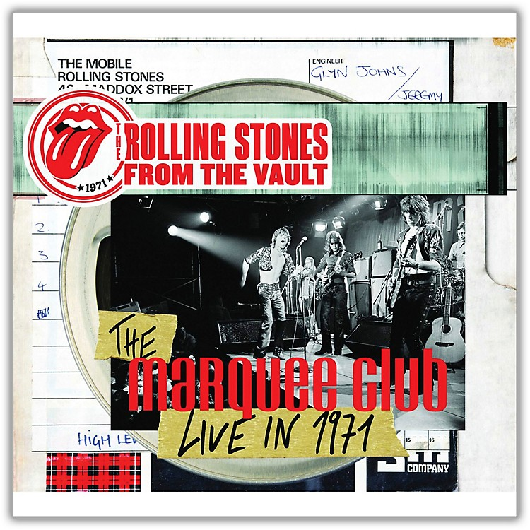 Universal Music GroupRolling Stones - From The Vault - The Marquee Club Live in 1971 Limited Edition [DVD / LP]