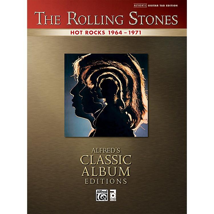 AlfredRolling Stones - Hot Rocks Guitar Tab Book