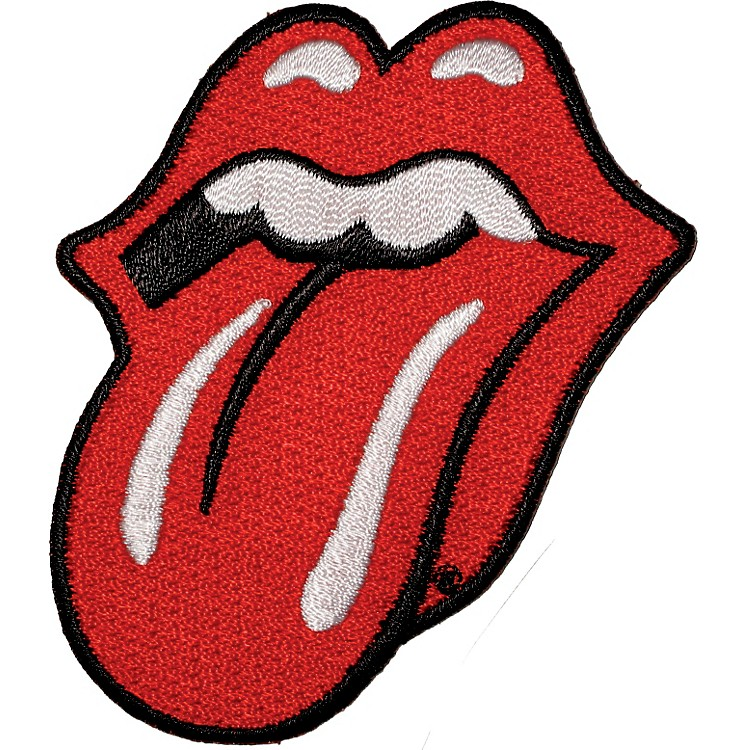 C&D Visionary Rolling Stones Red Tongue Patch