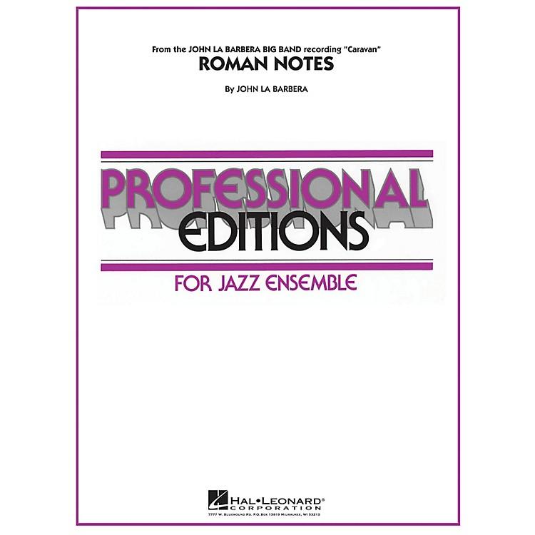 Hal LeonardRoman Notes Jazz Band Level 5 Composed by John La Barbera