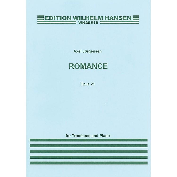 Wilhelm HansenRomance Op. 21 (for Trombone and Piano) Music Sales America Series