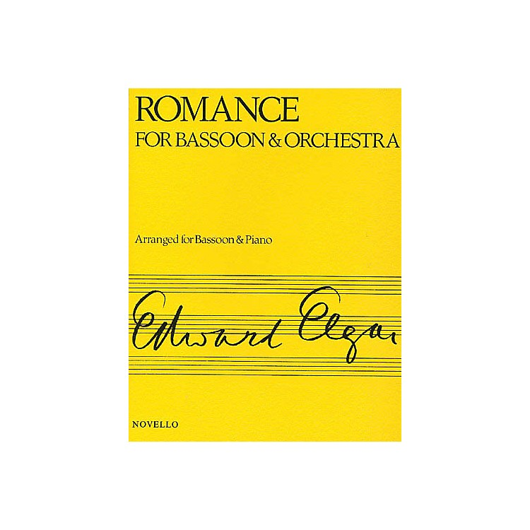 NovelloRomance for Bassoon and Orchestra (Arranged for Bassoon and Piano) Music Sales America Series