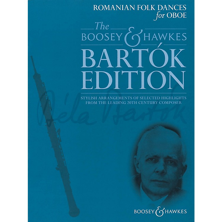 Boosey and HawkesRomanian Folk Dances (for Oboe and Piano) Boosey & Hawkes Chamber Music Series Book