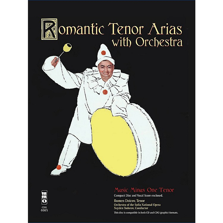 Music Minus OneRomantic Arias for Tenor & Orchestra Music Minus One Series Softcover with CD  by Various