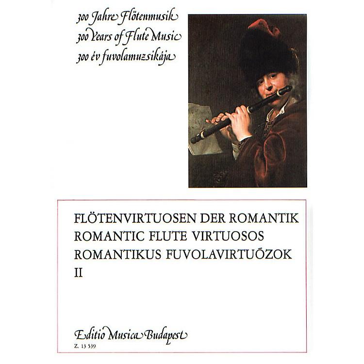 Editio Musica BudapestRomantic Flute Virtuosos - Volume 2 EMB Series