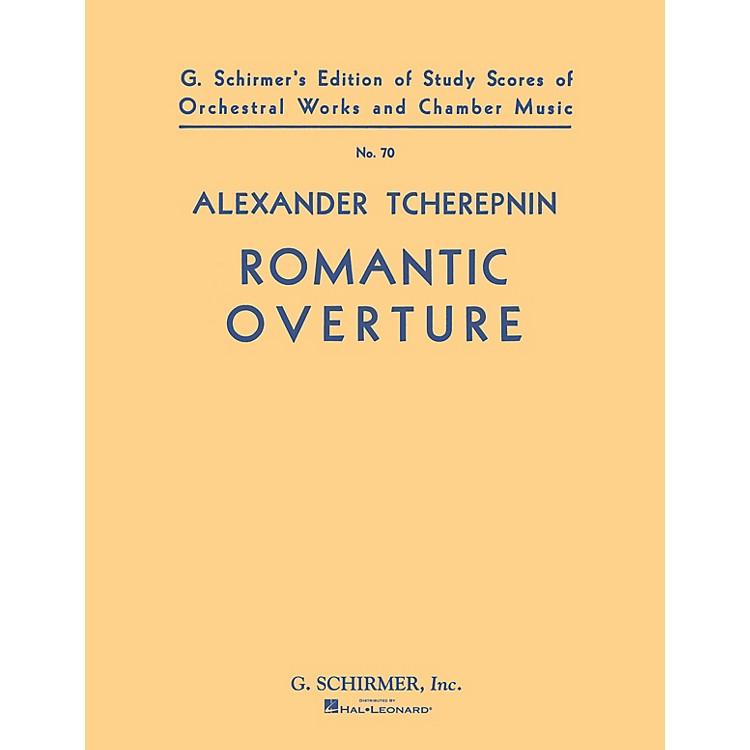 G. SchirmerRomantic Overture (Study Score No. 70) Study Score Series Composed by Alexander Tcherepnin