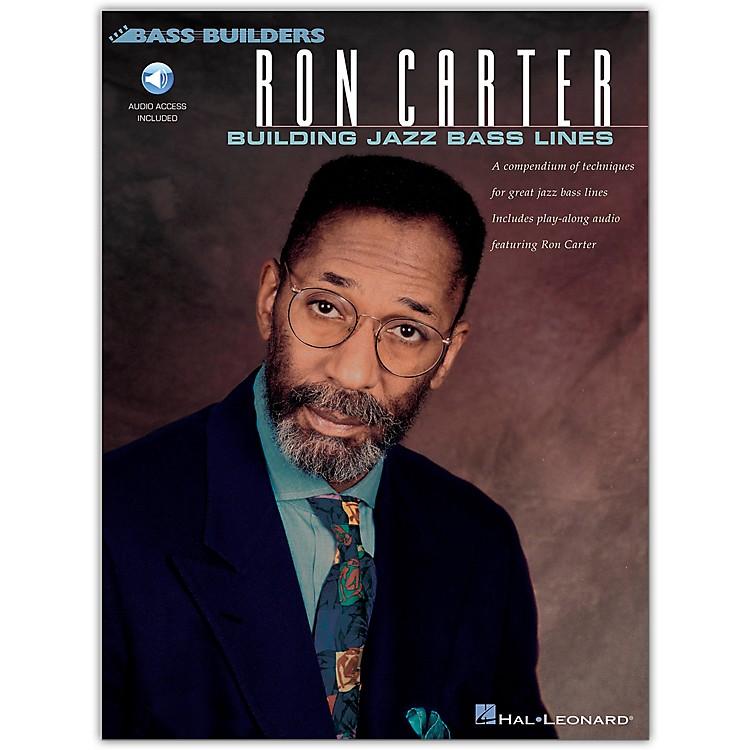Hal LeonardRon Carter - Building Jazz Bass Lines (Book/Online Audio)