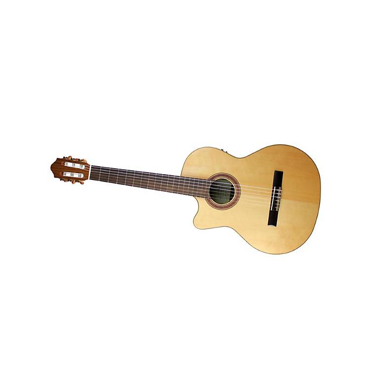 KremonaRondo R65CW Left-Handed Classical Electric GuitarGloss Natural