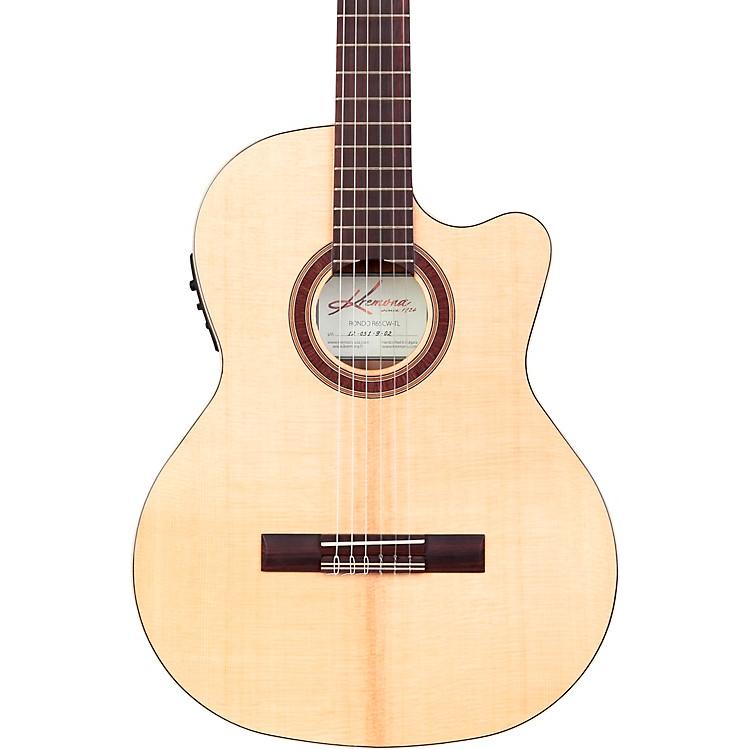 KremonaRondo Thin Line Classical Acoustic-Electric GuitarNatural