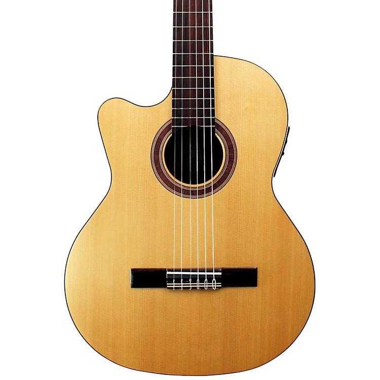 KremonaRondo Thin Line Left-Handed Classical Acoustic-Electric GuitarNatural