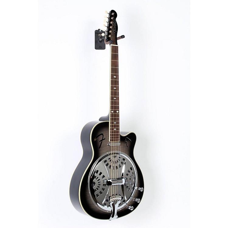 FenderRoosevelt CE Cutaway Resonator Acoustic-Electric GuitarMoonlight Black Burst888365672021