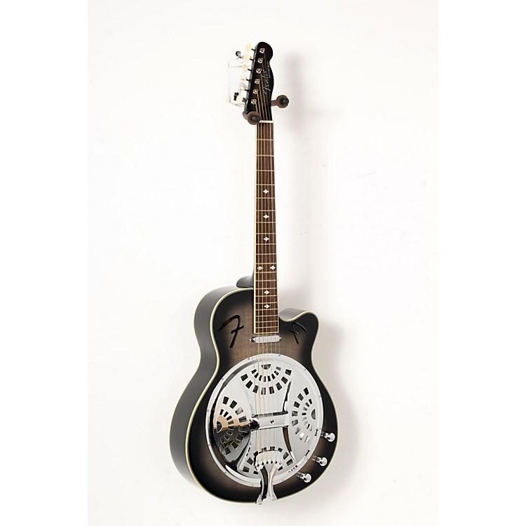 FenderRoosevelt CE Cutaway Resonator Acoustic-Electric GuitarMoonlight Black Burst888365851631