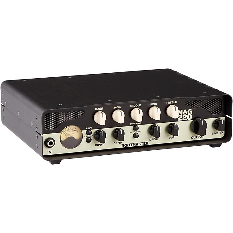 Ashdown Rootmaster 220W Bass Head Regular 888365896946