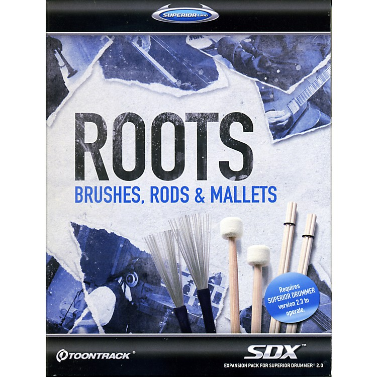 Toontrack Roots - Brushes, Rods & Mallets SDX