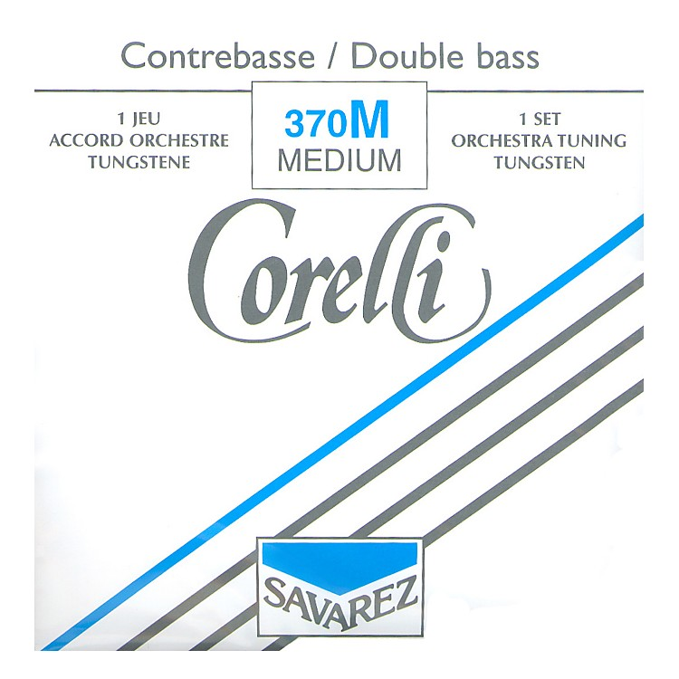 CorelliRope Core Bass StringsSet, Medium3/4 Size