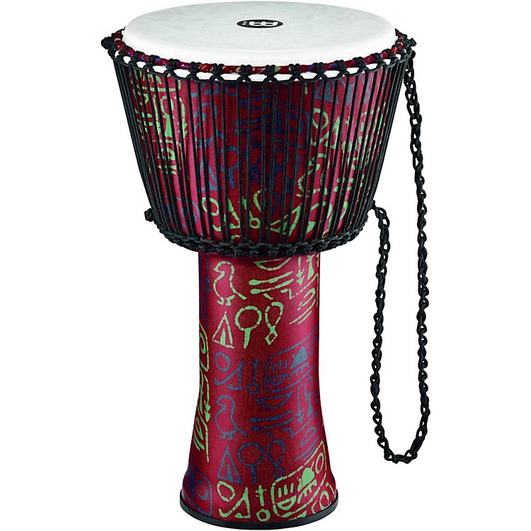 Meinl Rope Tuned Djembe with Synthetic Shell 14 in. Pharaoh's Script