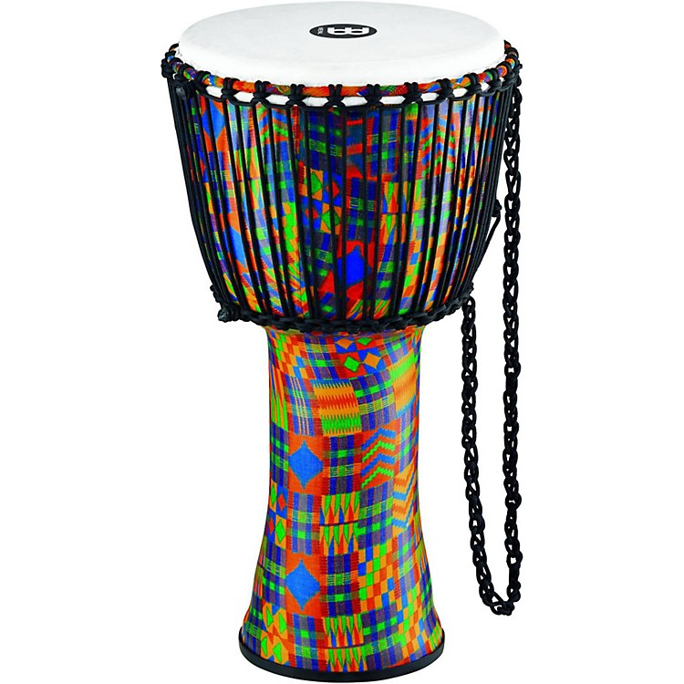 MeinlRope-Tuned Djembe with Synthetic Shell and Head12 in.Kenyan Quilt