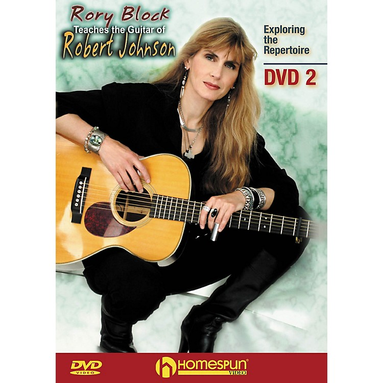 HomespunRory Block Teaches the Guitar of Robert Johnson Instructional/Guitar/DVD Series DVD Written by Rory Block