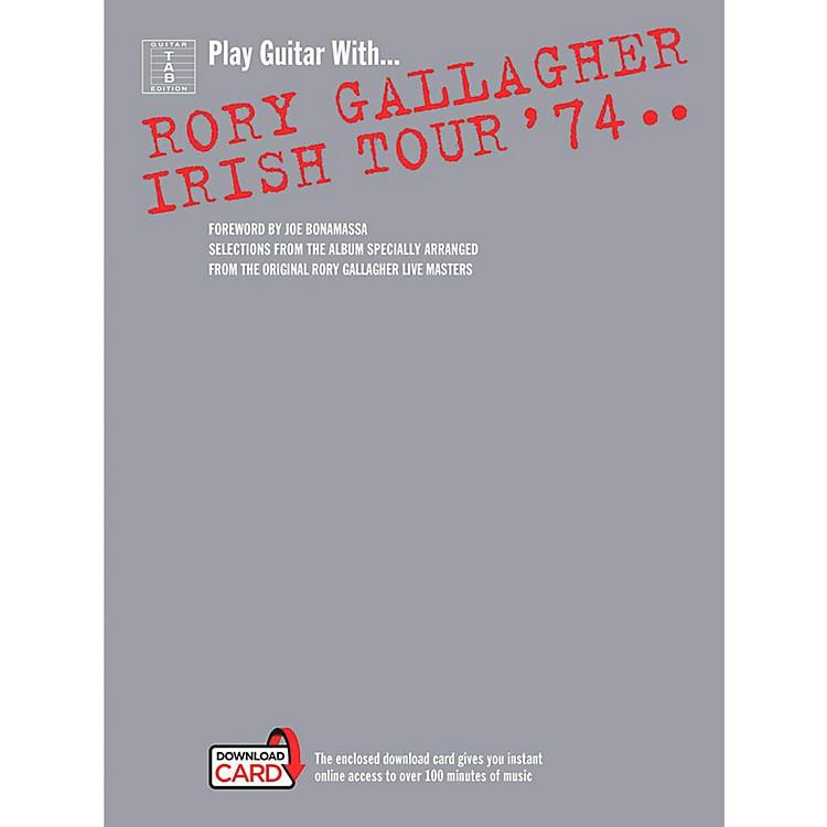 Music SalesRory Gallagher - Irish Tour '74 Book/Online Audio