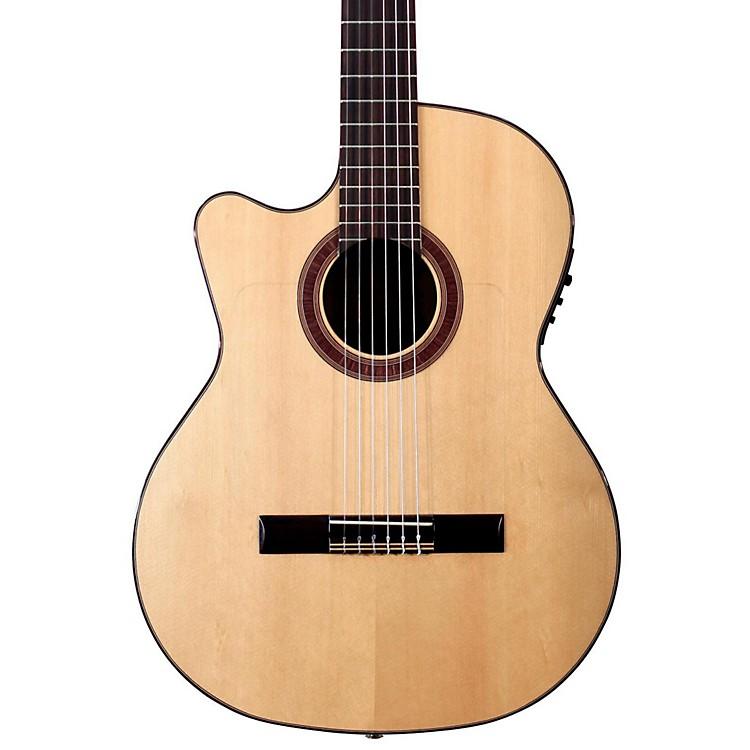 KremonaRosa Luna Left-Handed Flamenco Blanca GuitarNatural