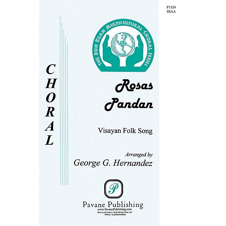 PavaneRosas Pandan SSAA A Cappella arranged by George Hernandez