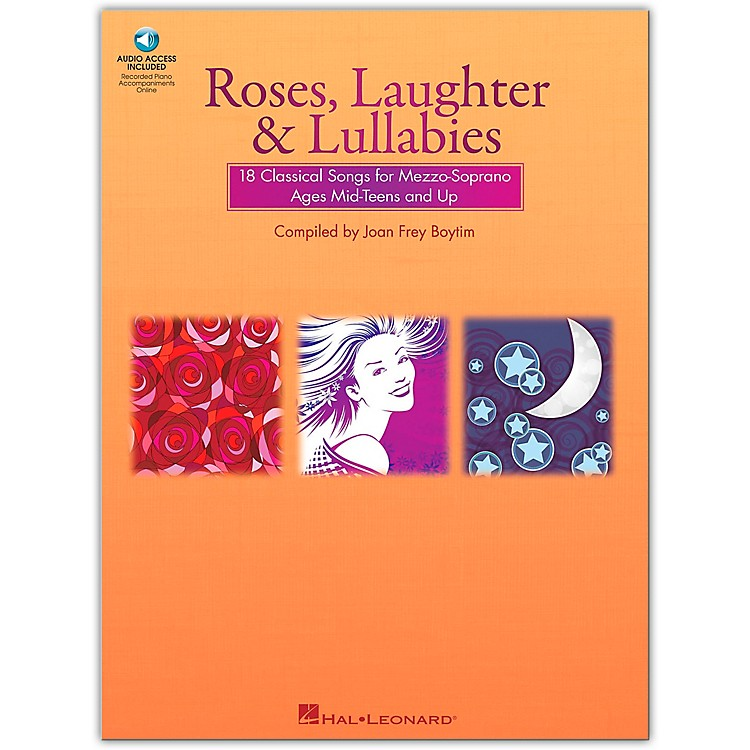 Hal LeonardRoses, Laughter And Lullabies for Mezzo-Soprano Book/Online Audio