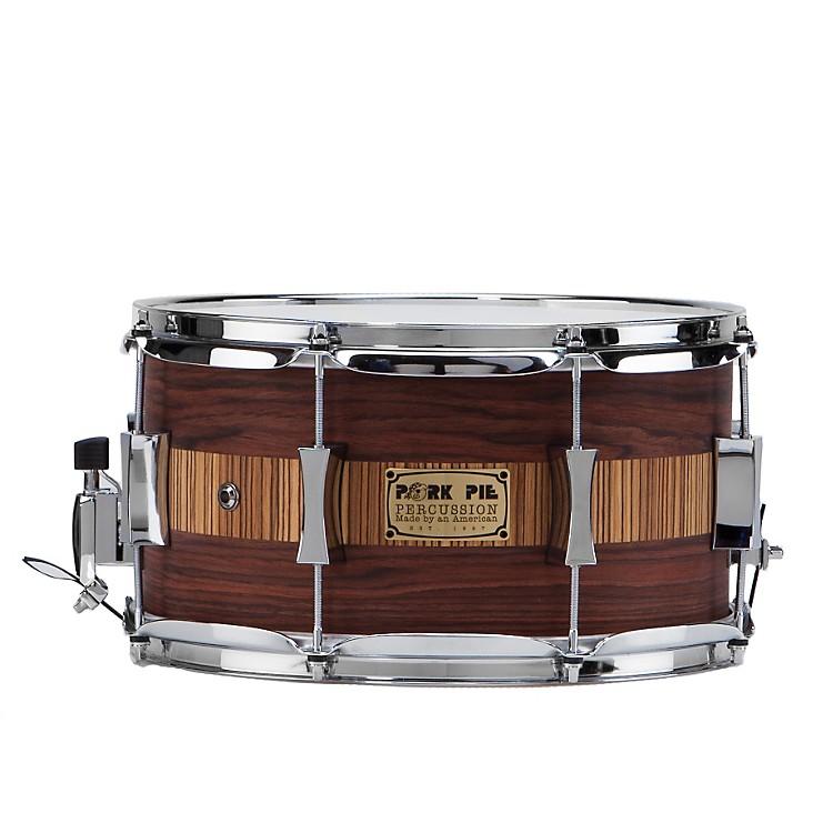 Pork PieRosewood Zebra Maple Snare Drum888365044231