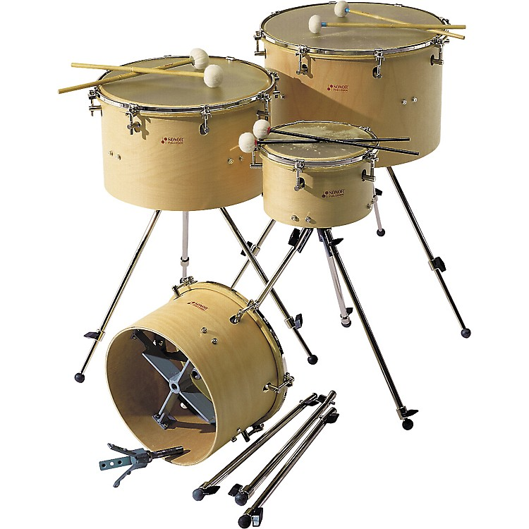 Sonor Rotary Timpani with Calfskin Head  10 in