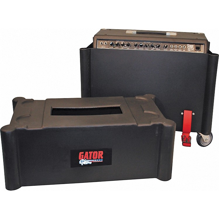 GatorRoto Mold Amp Case for 2x12 AmpsBlack