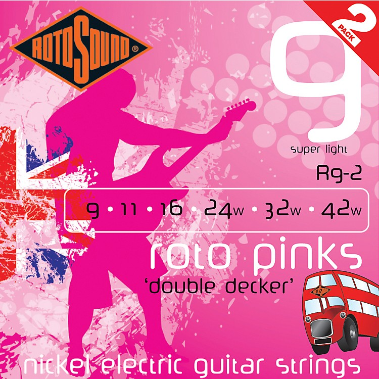 RotosoundRoto Pinks Double Deckers 2-Pack