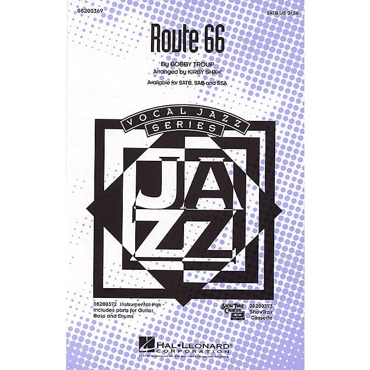 Hal LeonardRoute 66 SATB arranged by Kirby Shaw