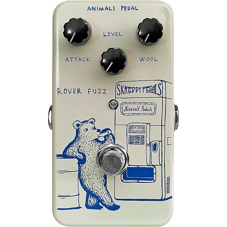 Animals PedalRover Fuzz Effects Pedal