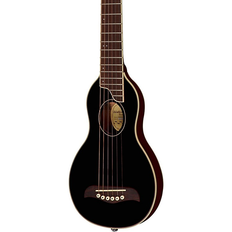 Washburn Rover Travel Guitar Black