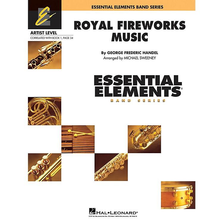 Hal LeonardRoyal Fireworks Music Concert Band Level 1 Arranged by Michael Sweeney