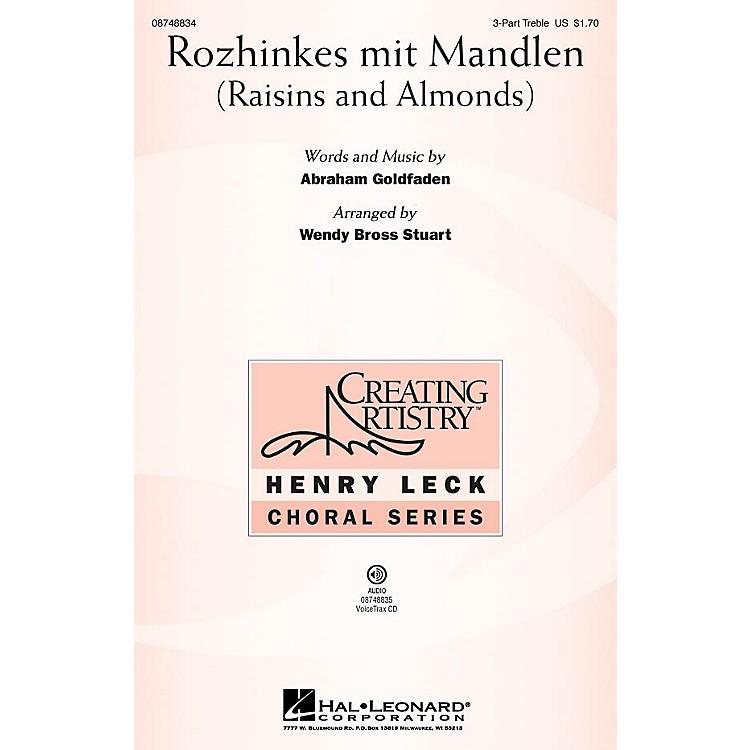 Hal LeonardRozhinkes mit Mandlen VoiceTrax CD Arranged by Wendy Bross Stuart