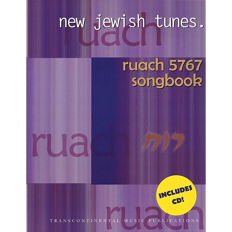 Transcontinental MusicRuach 5767: New Jewish Tunes Transcontinental Music Folios Series Softcover with CD