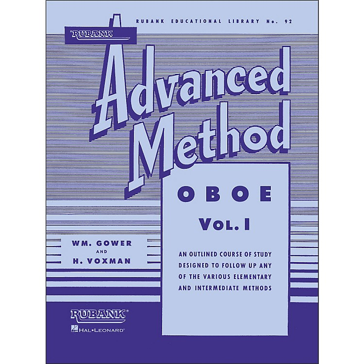 Hal LeonardRubank Advanced Method for Oboe Volume 1