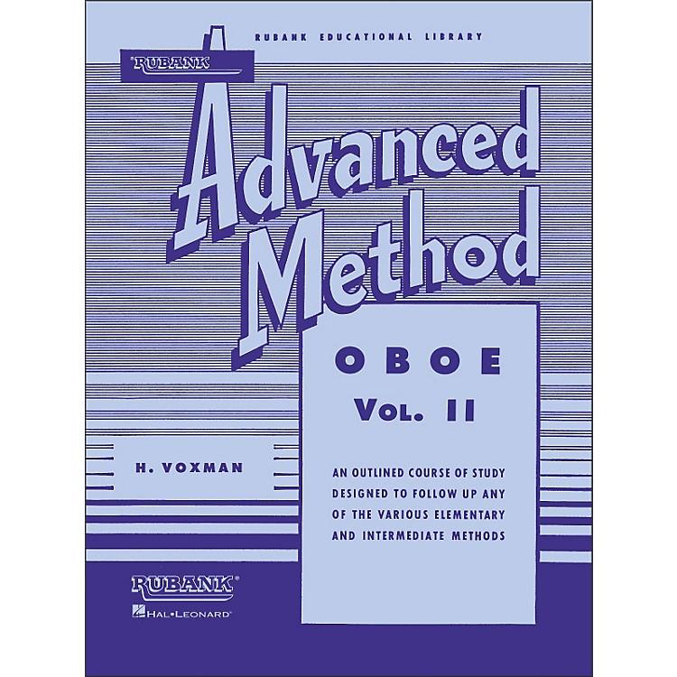 Hal LeonardRubank Advanced Method for Oboe Volume 2