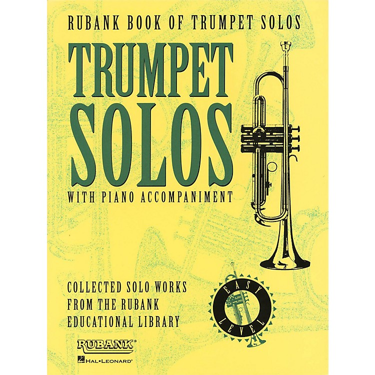 Hal LeonardRubank Book Of Trumpet Solos Easy Level with Piano Accompaniment