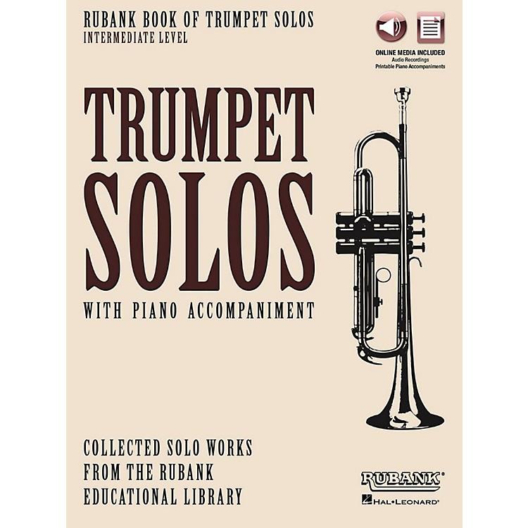 Hal LeonardRubank Book of Trumpet Solos - Intermediate Level Book/Audio Online