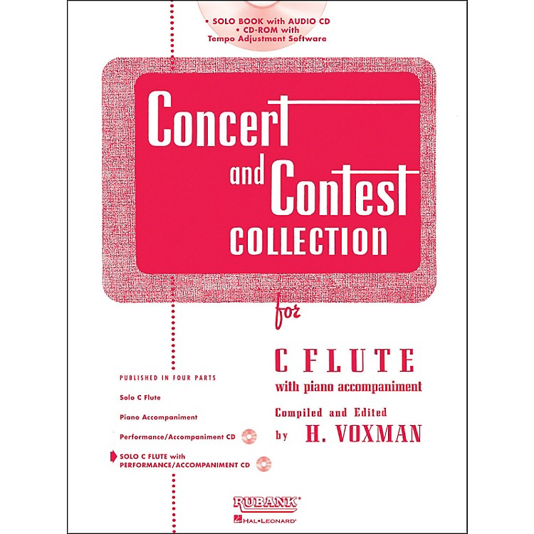 Hal LeonardRubank Concert And Contest Collection - Flute (Book/Online Audio)